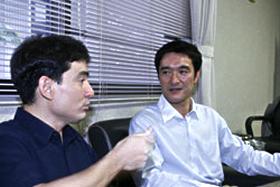 野口健氏と野々村の対談