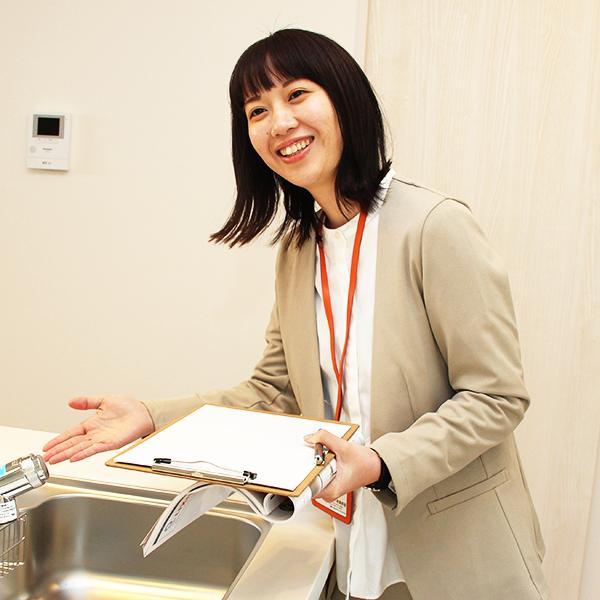 ショールームアドバイザー/販売促進  坂田 香(さかた かおり)